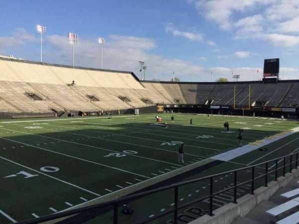 Vanderbilt Stadium, Bereich: A, Reihe: 16, Platz: 18