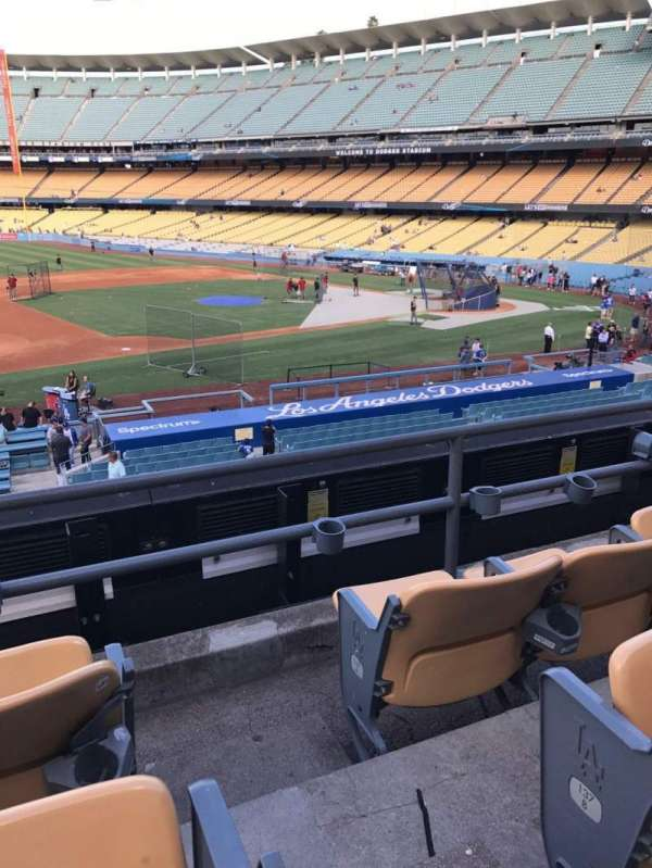 Dodger Stadium, Abschnitt: 139LG, Reihe: C, Platz: 1