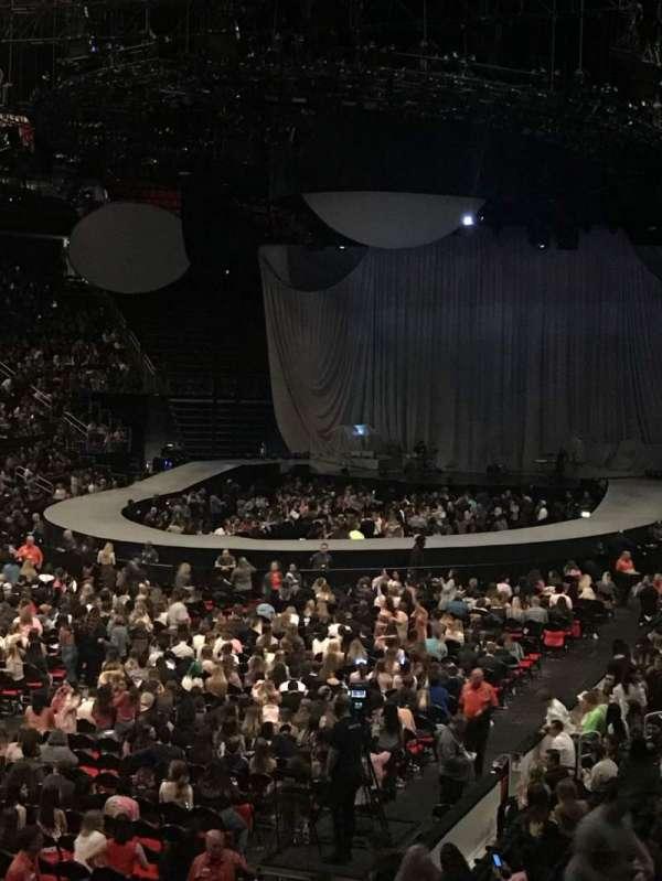 Little Caesars Arena, Abschnitt: 114, Reihe: 18, Platz: 9