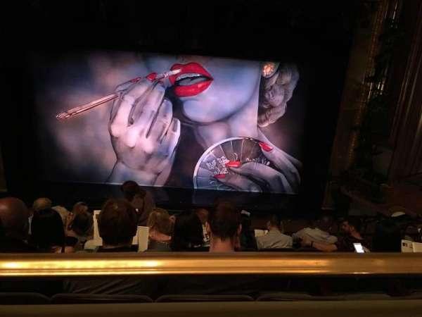 Nederlander Theatre, Abschnitt: Mezzanine, Reihe: G, Platz: 105