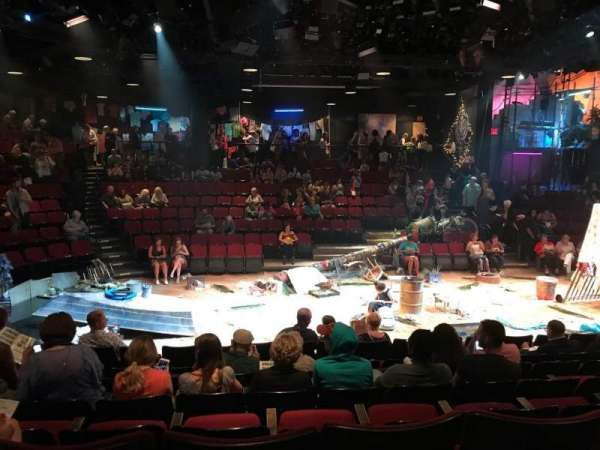 Circle in the Square Theatre, Abschnitt: ORCR, Reihe: G, Platz: 220