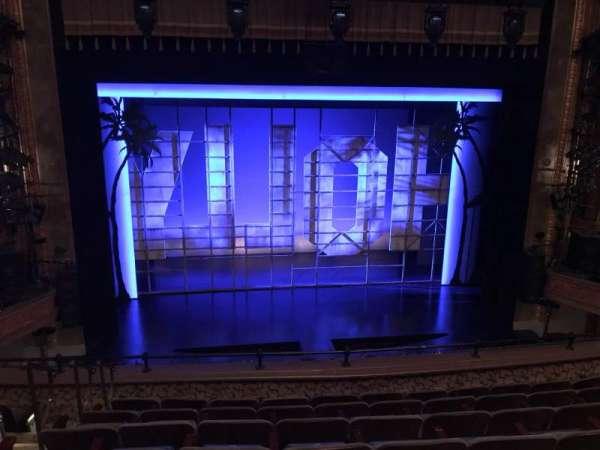 Nederlander Theatre, Abschnitt: MEZZC, Reihe: G, Platz: 112 And 113
