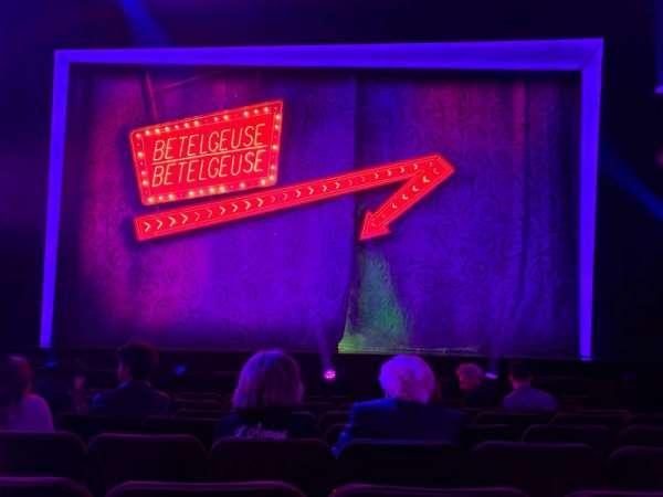 Winter Garden Theatre, Abschnitt: ORCC, Reihe: H, Platz: 105 And 106