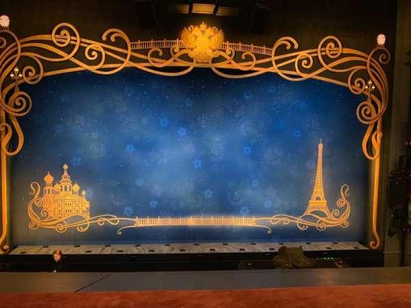 Broadhurst Theatre, Abschnitt: Mezzanine Center, Reihe: A, Platz: 106