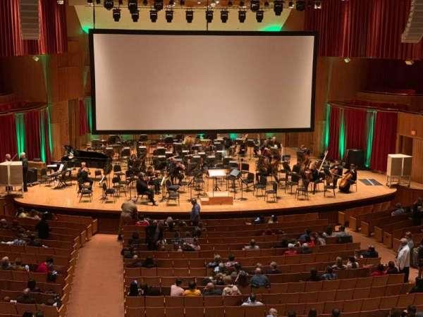 Joseph Meyerhoff Symphony Hall, Abschnitt: Grand Tier Center Left, Reihe: A, Platz: 115