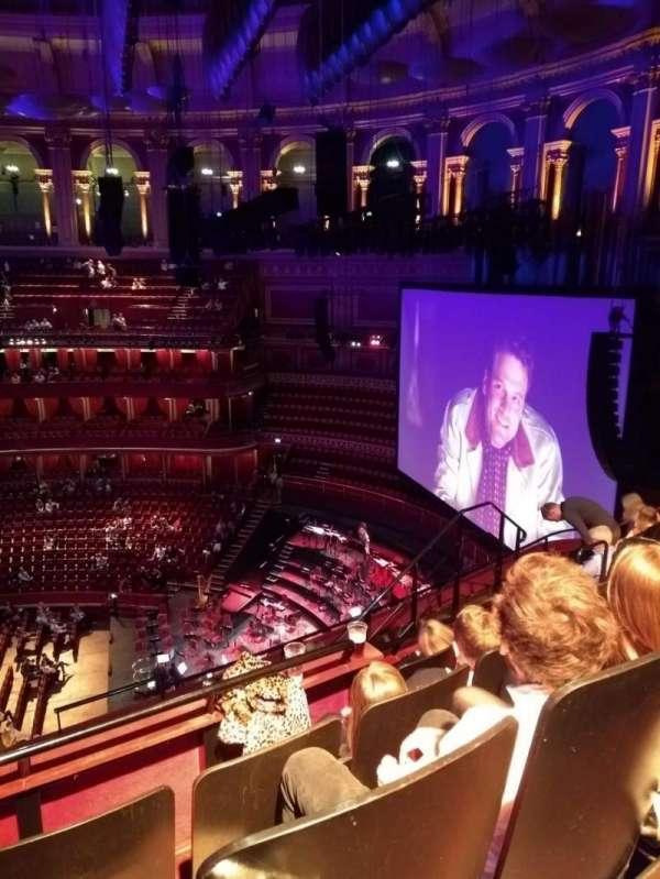 Royal Albert Hall, Abschnitt: Circle Y, Reihe: 6, Platz: 231