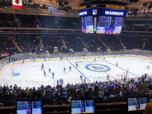 Madison Square Garden, Abschnitt: 209, Reihe: 3, Platz: 9
