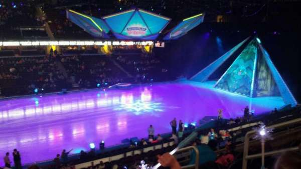 Quicken Loans Arena, Abschnitt: c107, Reihe: 20, Platz: 13