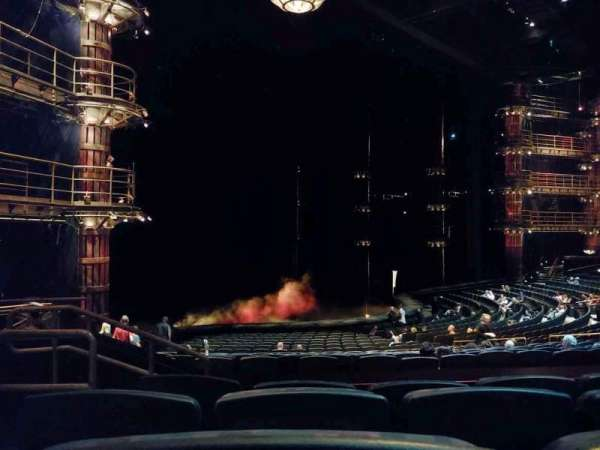 KÀ Theatre - MGM Grand, Abschnitt: 201, Reihe: EE, Platz: 2