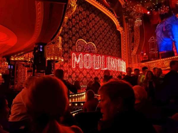 Al Hirschfeld Theatre, Abschnitt: Orchestra L, Reihe: J, Platz: 19