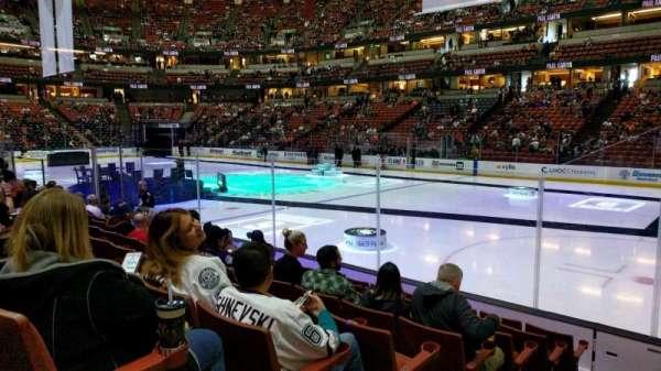 Honda Center, Abschnitt: 205, Reihe: H, Platz: 9