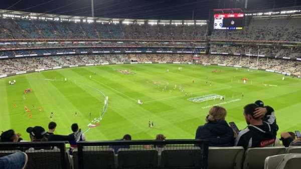 Melbourne Cricket Ground, Bereich: Q52, Reihe: C, Platz: 19