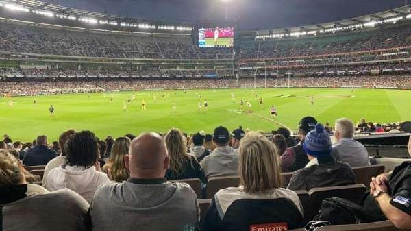 Melbourne Cricket Ground, Bereich: M28, Reihe: X, Platz: 17
