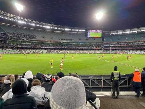 Melbourne Cricket Ground, Bereich: M28, Reihe: J, Platz: 12