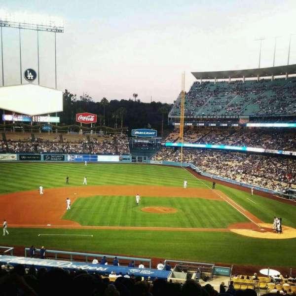 Dodger Stadium, Abschnitt: 127LG, Reihe: S, Platz: 1