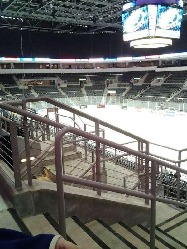 Denny Sanford Premier Center, Abschnitt: 101, Reihe: M, Platz: 20