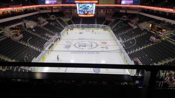 Denny Sanford Premier Center, Abschnitt: 210, Reihe: G, Platz: 2