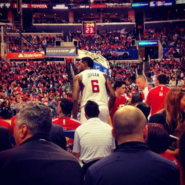 Staples Center, Abschnitt: 119, Reihe: 2, Platz: 5
