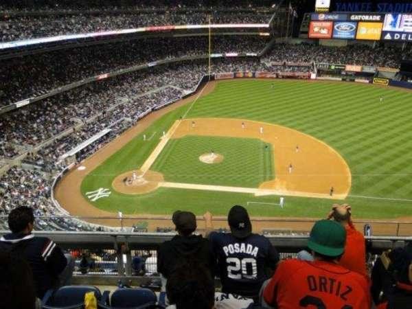 Yankee Stadium, Abschnitt: 416, Reihe: 4, Platz: 11