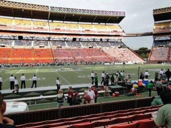 Aloha Stadium, Abschnitt: L, Reihe: 7, Platz: 14