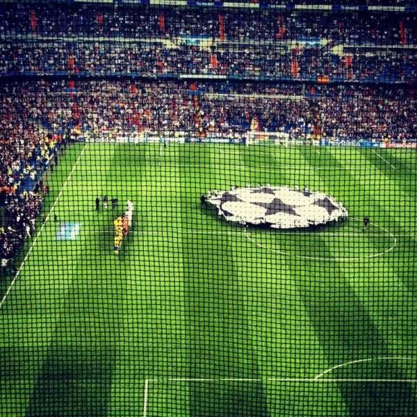 Santiago Bernabéu Stadium, Abschnitt: Away Section