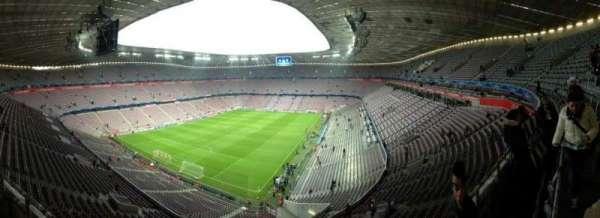 Allianz Arena, Abschnitt: 345, Reihe: 1