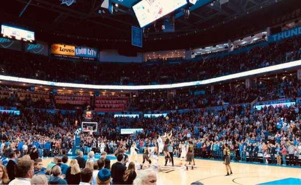 Chesapeake Energy Arena, Abschnitt: 114, Reihe: A, Platz: 10