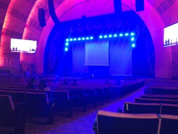Radio City Music Hall, Abschnitt: Orchestra 2, Reihe: C, Platz: 213