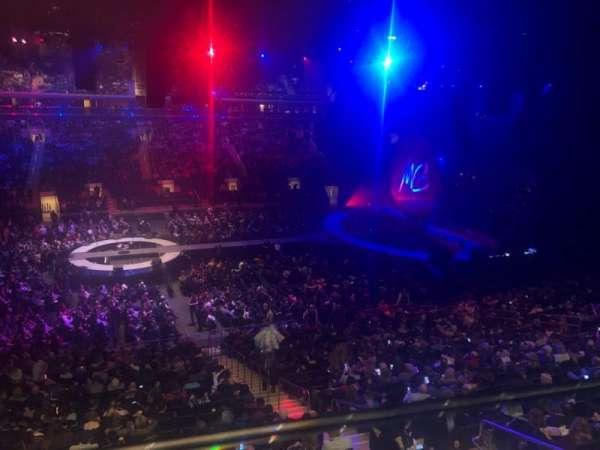 Madison Square Garden, Abschnitt: 210, Reihe: 1, Platz: 16