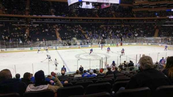 Madison Square Garden, Abschnitt: 116, Reihe: 17, Platz: 10