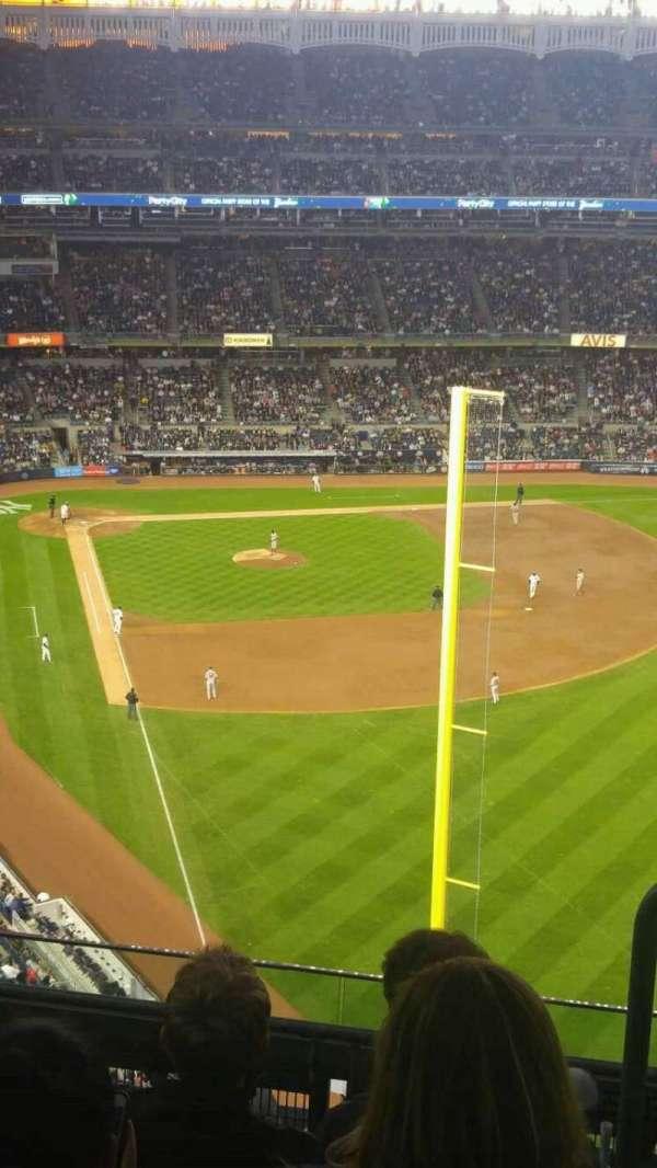 Yankee Stadium, Abschnitt: 407b, Reihe: 5, Platz: 1