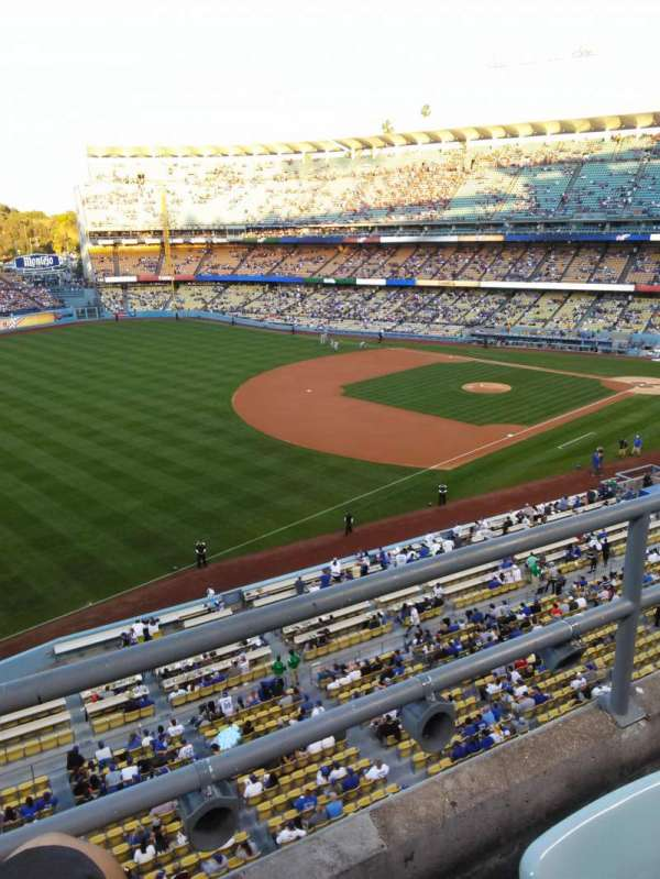 Dodger Stadium, Abschnitt: 35RS, Reihe: B, Platz: 21