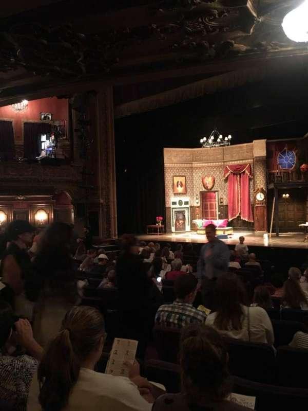 Lyceum Theatre (Broadway), Abschnitt: Orch, Reihe: X