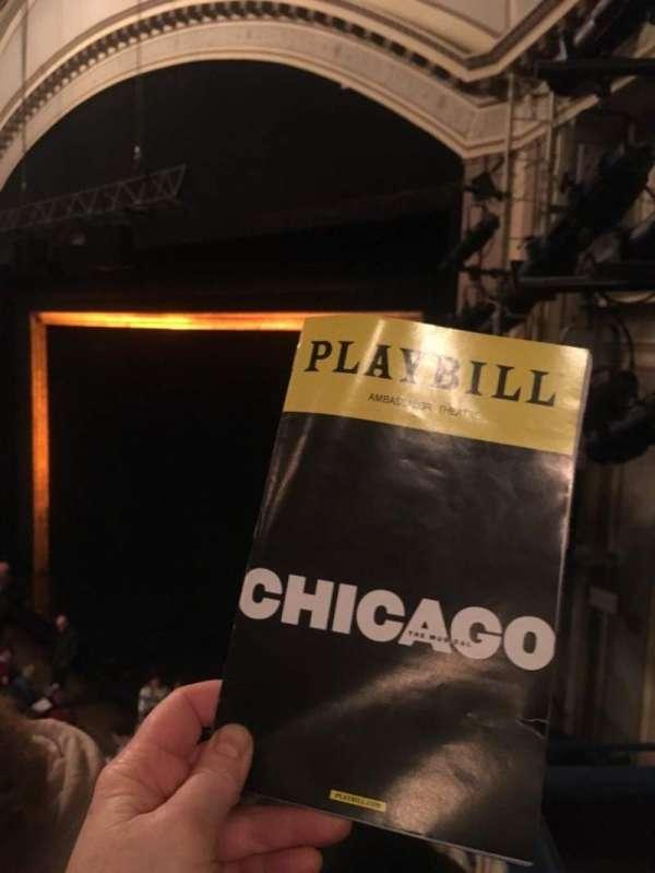 Ambassador Theatre, Abschnitt: Mez R, Reihe: C