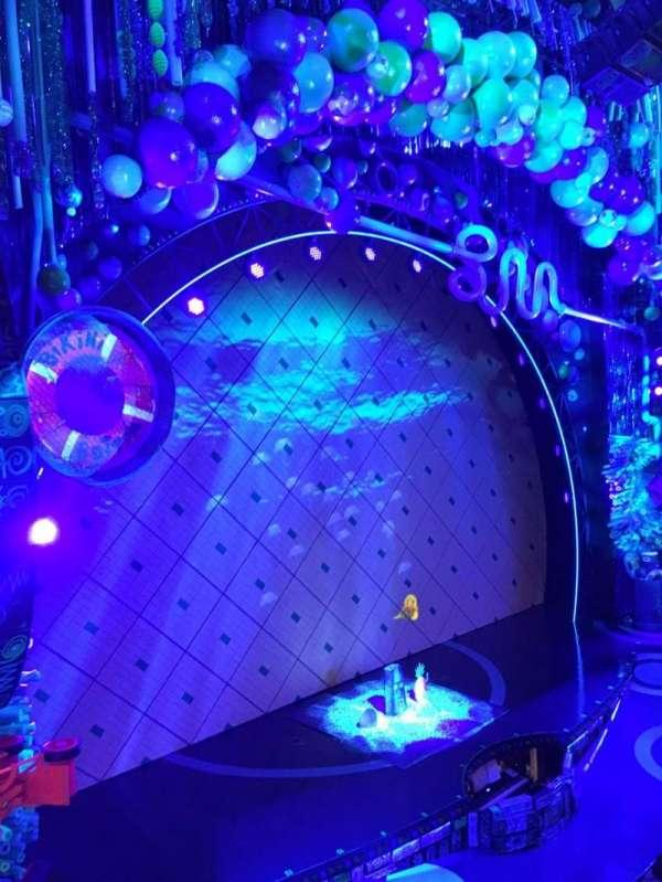Palace Theatre (Broadway), Abschnitt: Mezz, Reihe: K