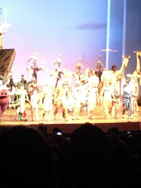 Minskoff Theatre, Abschnitt: L Orch, Reihe: Zz