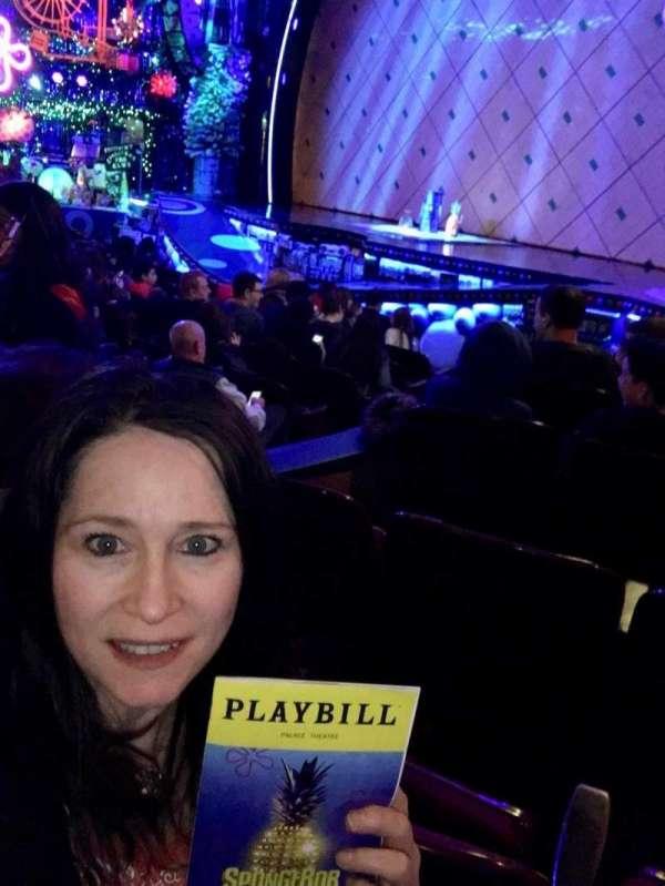 Palace Theatre (Broadway), Abschnitt: R Orch, Reihe: L