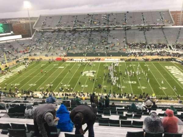 Spartan Stadium, Abschnitt: 123, Reihe: 28, Platz: 10