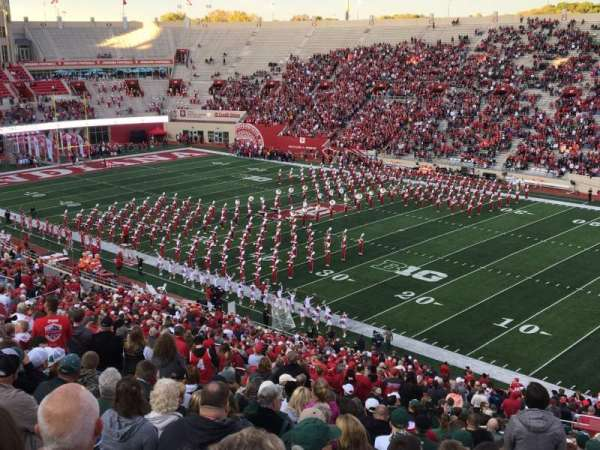 Memorial Stadium (Indiana), Abschnitt: 102, Reihe: 5, Platz: 1