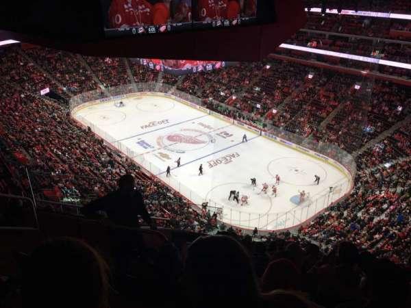 Little Caesars Arena, Abschnitt: 207, Reihe: 8, Platz: 9