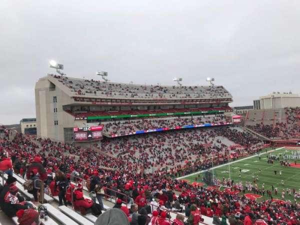 Memorial Stadium (Lincoln), Abschnitt: 34, Reihe: 91, Platz: 10