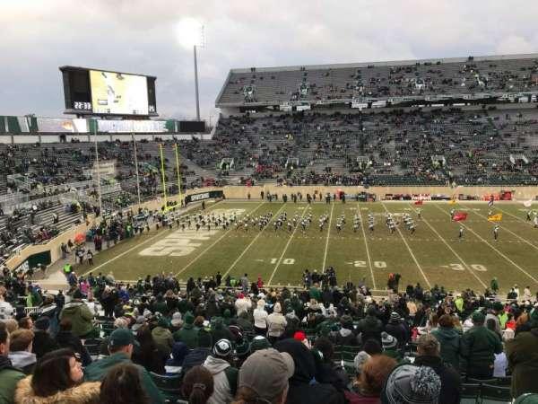 Spartan Stadium, Abschnitt: 25, Reihe: 45, Platz: 28