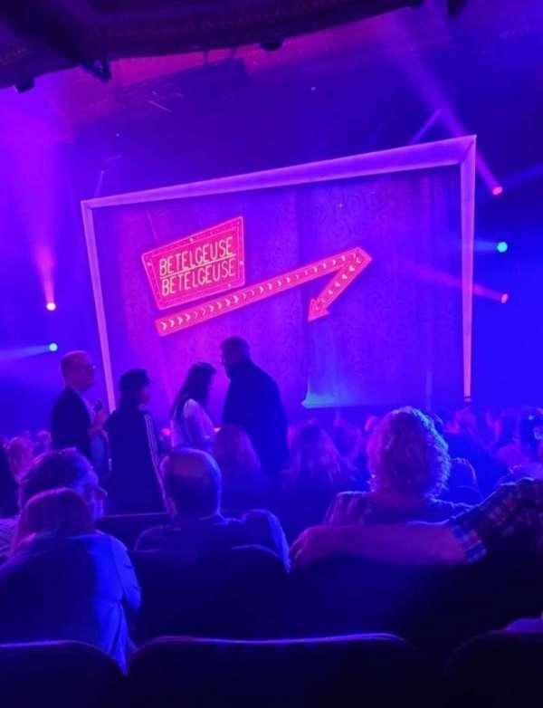 Winter Garden Theatre, Abschnitt: Orchestra R, Reihe: T, Platz: 6