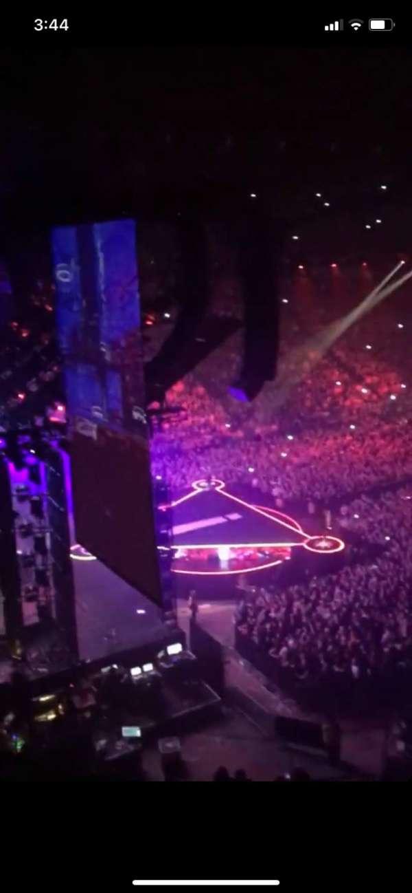 Manchester Arena, Abschnitt: 222, Reihe: C, Platz: 13