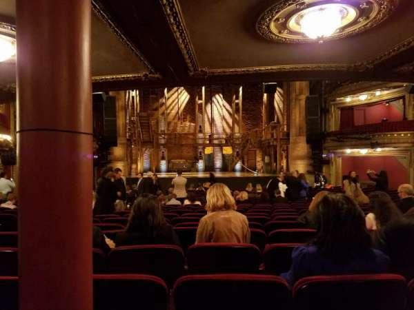 CIBC Theatre, Abschnitt: Orchestra C, Reihe: X, Platz: 109