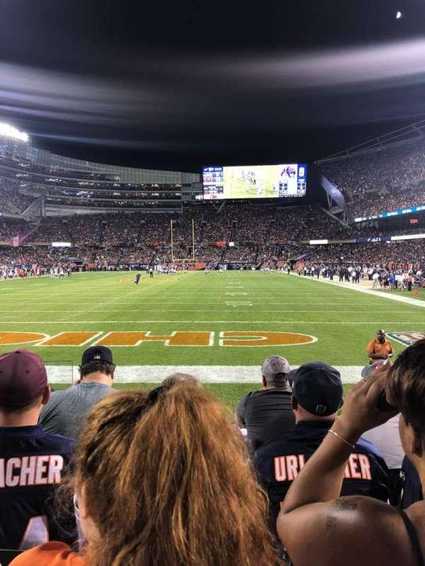 Soldier Field, Abschnitt: 150, Reihe: 4, Platz: 2