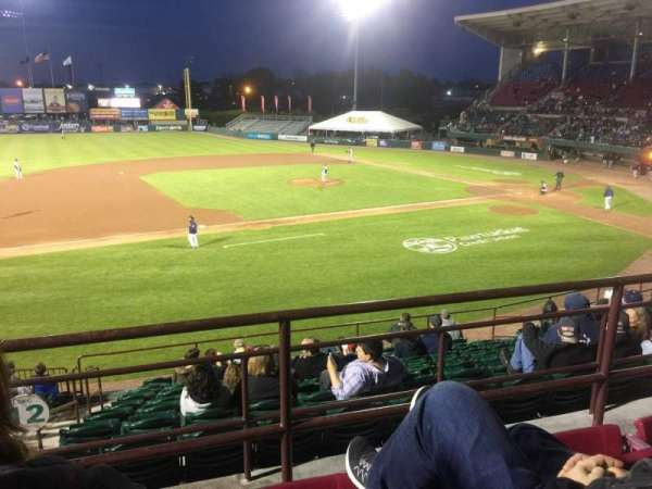 McCoy Stadium, Abschnitt: 12, Reihe: CC, Platz: 14