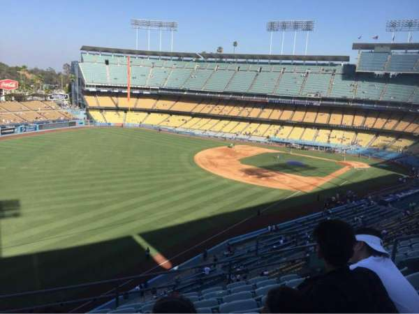Dodger Stadium, Abschnitt: 47RS, Reihe: H, Platz: 9