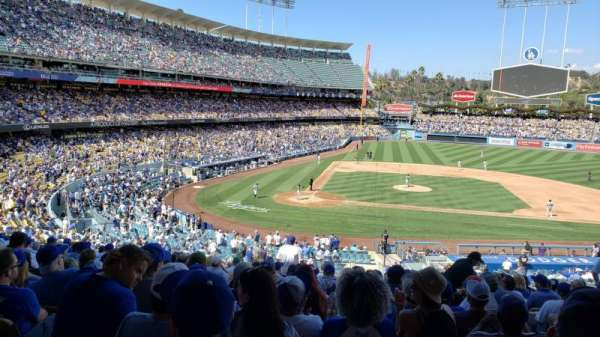 Dodger Stadium, Abschnitt: 124LG, Reihe: P, Platz: 3