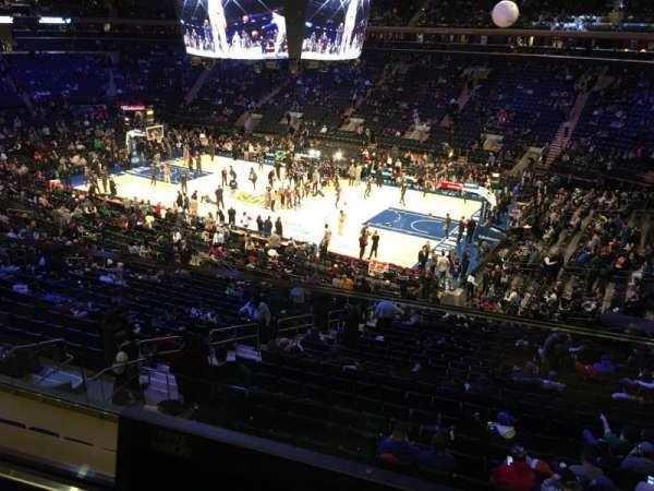 Madison Square Garden, Abschnitt: 213, Reihe: 1, Platz: 13